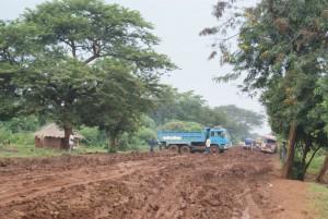 Karamoja in der Regenzeit, bei Okolim