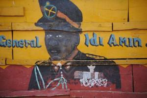 Zeichnung Idi Amin