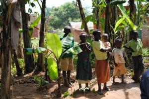 Kinder in Uganda, Bild © E. Kling-Prein