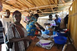 Tortenprojekt in Gulu