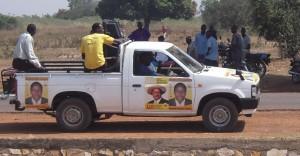 Wahlpropaganda in Uganda
