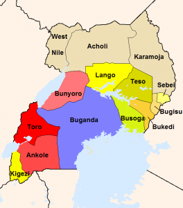 Ugandas Königreiche
