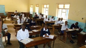 Unterricht an einer Secondary School