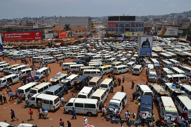 Taxi Rank kampala