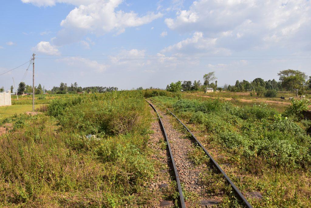 alte Schienen in Uganda